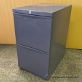 Grey 2 Drawer Pedestal Cabinet SND