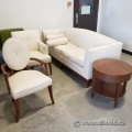 Cream and Peanut Colour Lobby or Living Room Furniture Suite