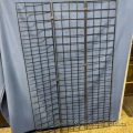 "Black Folding Wire Grid Panels 36"" W x 60"" H"