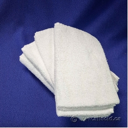 Set of 5 White Hand Towel