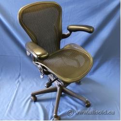 Herman Miller Aeron B Size Mesh Ergonomic Task Chair, No Lumbar