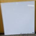 23 x 23 Melamine Economy Whiteboard
