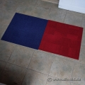 Blue/Red Fashion Carpet Tile