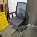 Haworth Very Task Chair w/ Mesh Back & Grey Fabric Seat