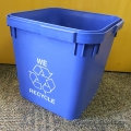 6 Gallon US (23 Litres) Recycling Bin