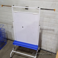 Mobile Rolling Magnetic Whiteboard