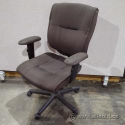 Grey Office Adjustable Task Chair