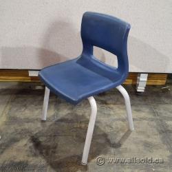 Set of 19 Ven-Rez Horizon Plastic Stacking Student Chairs