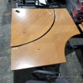 Simo Peanut Height Adjustable Corner Desk B Grade
