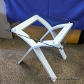 Glass Top Side End Table