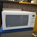 White 1.6 cu. ft Panasonic Microwave w/ Inverter