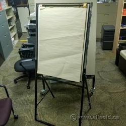 Adjustable Presentation Easel w/ Whiteboard and Paper Pad