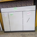 "Haworth 36"" x 48"" Magnetic Planning Whiteboard w/ Label Magnets"