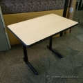 "36"" x 23"" Blonde Training Desk Table"