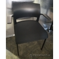 Black Steelcase Move Stacking Guest Chair