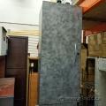 Grey Overhead Storage Hutch Cabinet