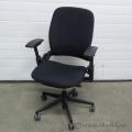 Steelcase Leap V2 Black Adjustable Ergonomic Task Chair w Arms
