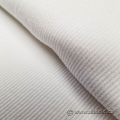 White Tubular Jersey Knit Fabric