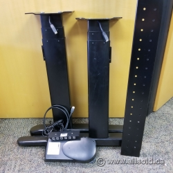 Power Sit/Stand Conversion Kit, for most Desks