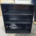 Black Metal 3 Shelf Bookcase