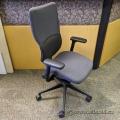 Steelcase Turnstone Let's B Grey/Black Adj. Rolling Task Chair