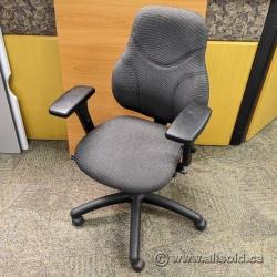 Grey Global Tritek 749 Ergo-Select Mid Back Ergonomic Task Chair