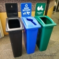 Set of 3 Busch Systems Waste Watcher Garbage Bins