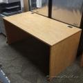 Heartwood Sugar Maple Straight Desk Shell 60 x 30