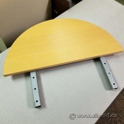 "Ikea Galant 1/2 Moon Surface - 24"""