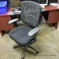 Black Ergo Mesh Mid-Back Task Chair