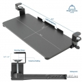 VIVO Clamp-on Keyboard/Mouse Under Desk Slider Tray - NIB