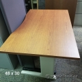 """48"""" x 30"""" Maple Sit Stand Desk Table Surface"""