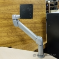SpaceArm Sit Stand Adjustable Single Monitor Clamp Mount Arm