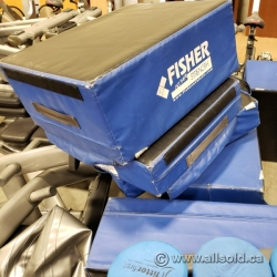 Set of Fisher Impact Plyo Boxes