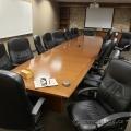 20 Foot Maple Boardroom Table w/ Power Grommet