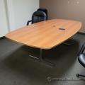 "96"" Sugar Maple Wide Boardroom Meeting Table"