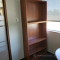Mid Tone Bookcase with Adjustable Shelves
