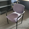 Mauve Pattern Office Guest Chair