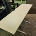72x24 Steelcase Blonde Sit Stand Desk Table Surface
