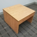Low Maple Accent Coffee Side Table