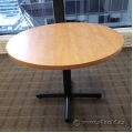 Maple Round Office Meeting Table