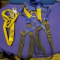 Climbing Harnesses and Web Shock Absorber Lanyard