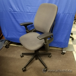 Steelcase Leap V2 Grey Adjustable Ergonomic Task Chair