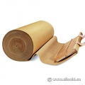 "Single Sided Cardboard Roll 60"" x 250' Corrugate Wrap New"