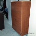 Maple 4 Drawer Lateral File Cabinet