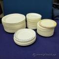 Lot of Paper/ Styrofoam Plates, Various Sizes