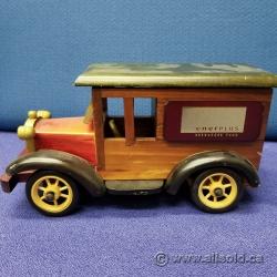 Decorative Wooden Truck