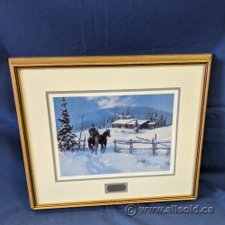 """""""The Gift"""" Numbered Print by Karl E. Wood Wall Art"""