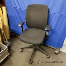 Teknion Donati Black Office Task Chair