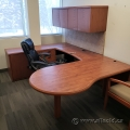 Autumn Maple U/C Suite Desk with RH Bullet